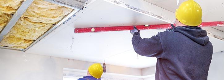 gyproc plafond plaatsen Lummen
