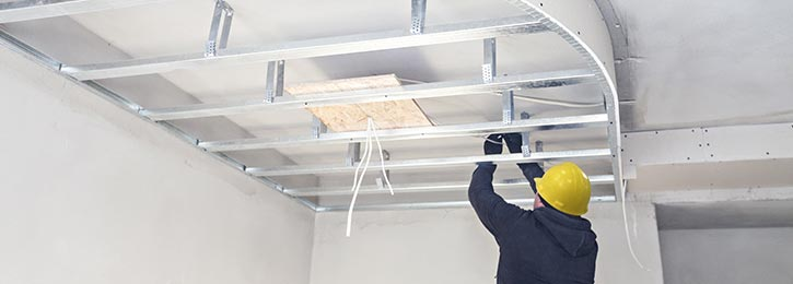 verlaagd plafond Ronse